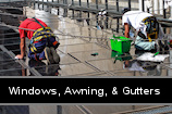 Windows, Awning, & Gutters